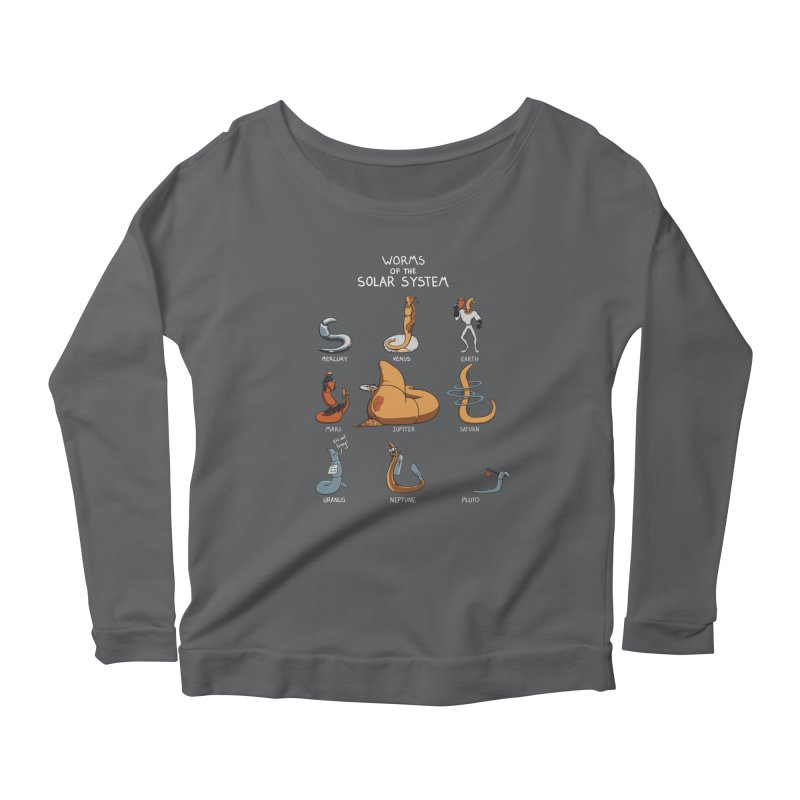 Worms of the Solar System Women's Scoop Neck Longsleeve T-Shirt by Gyledesigns' Artist Shop
