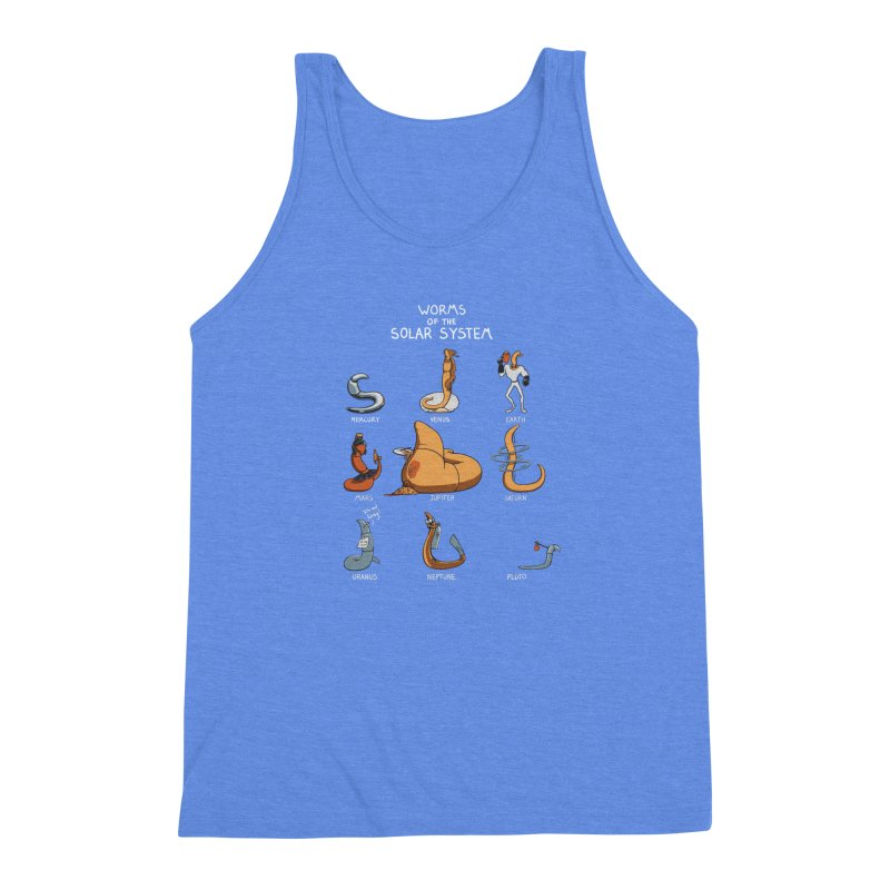 Worms of the Solar System Men's Triblend Tank by Gyledesigns' Artist Shop