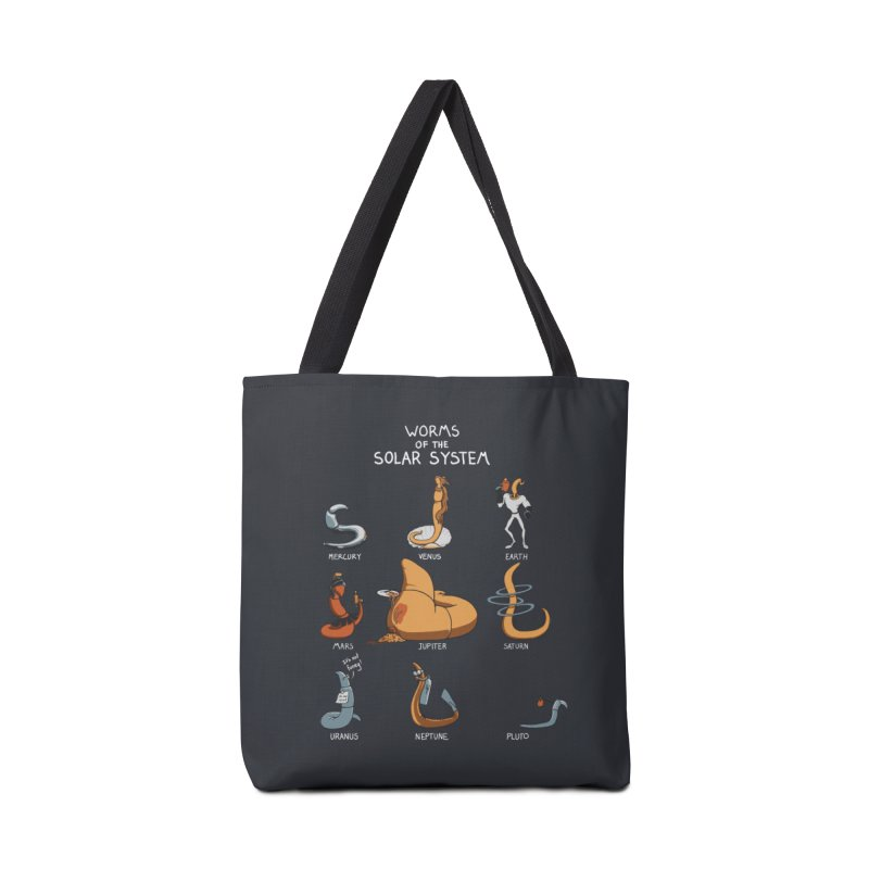Worms of the Solar System Accessories Tote Bag Bag by Gyledesigns' Artist Shop