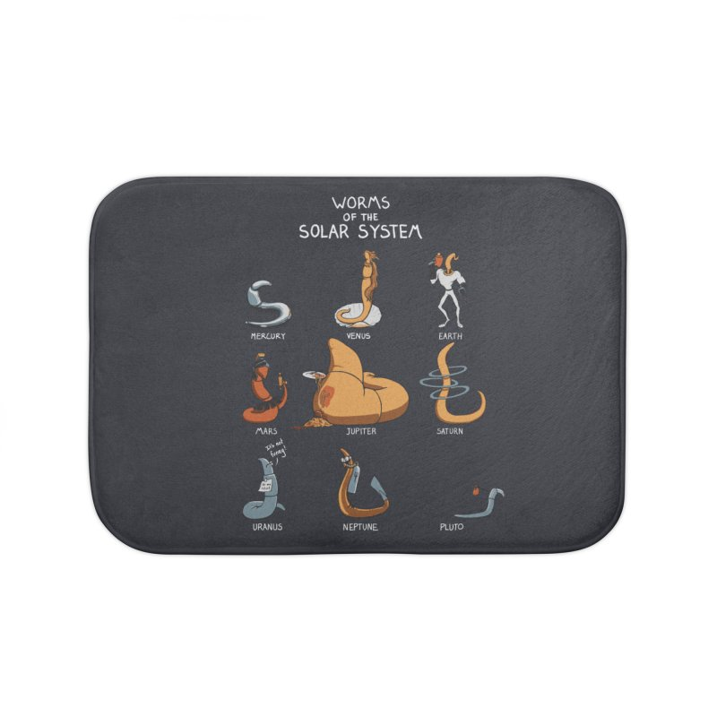 Worms of the Solar System Home Bath Mat by Gyledesigns' Artist Shop