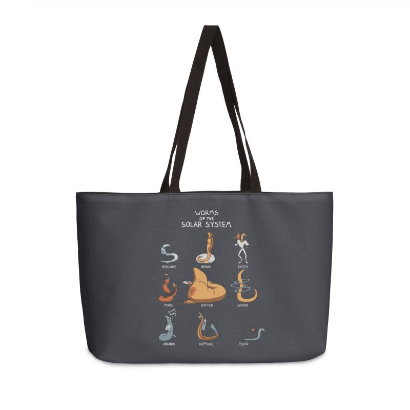 Worms of the Solar System Accessories Weekender Bag Bag by Gyledesigns' Artist Shop
