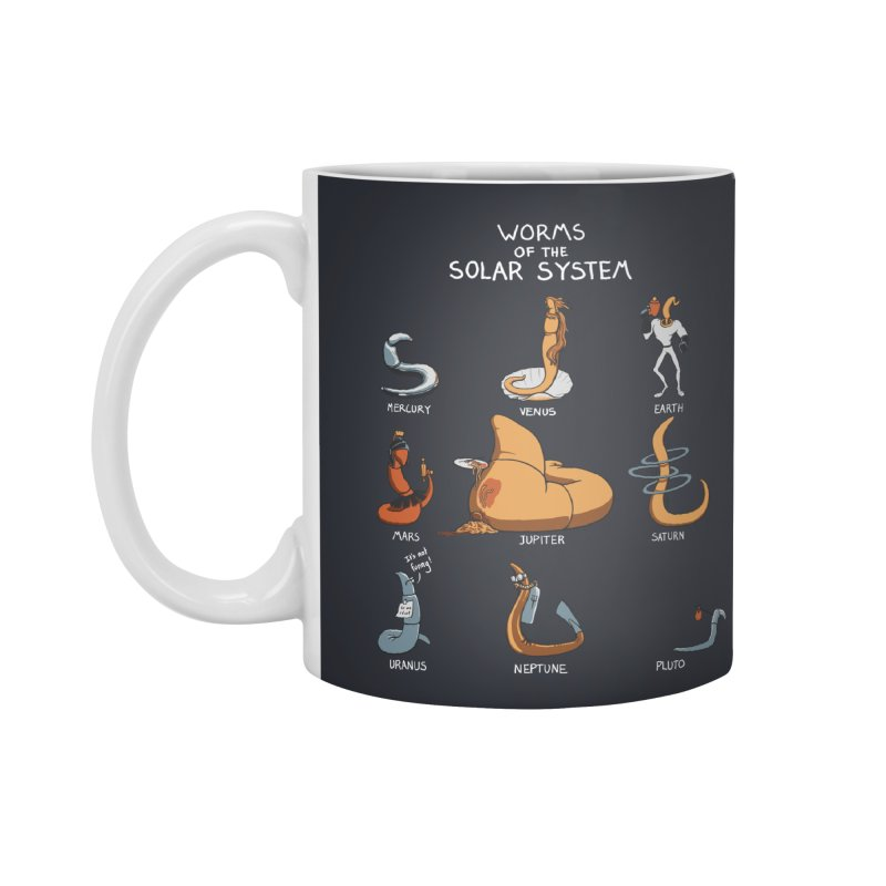 Worms of the Solar System Accessories Standard Mug by Gyledesigns' Artist Shop