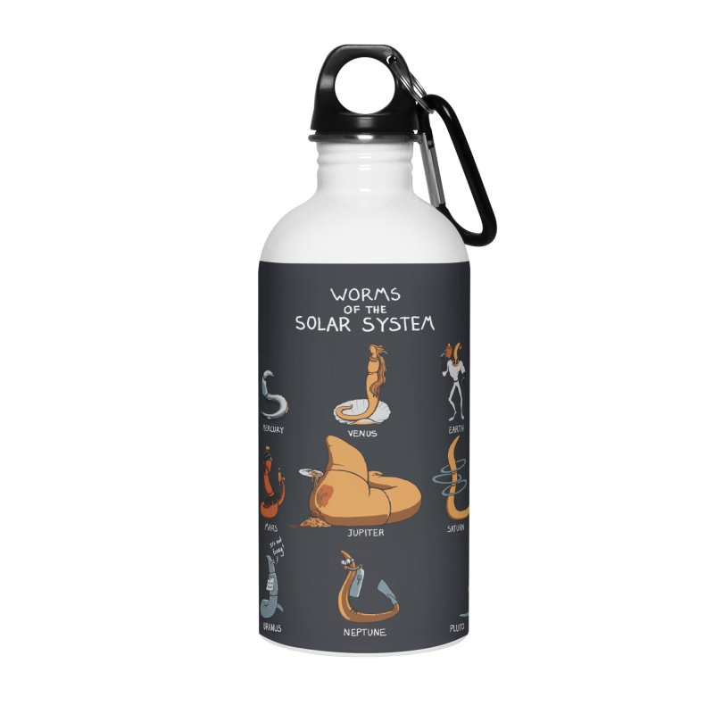Worms of the Solar System Accessories Water Bottle by Gyledesigns' Artist Shop