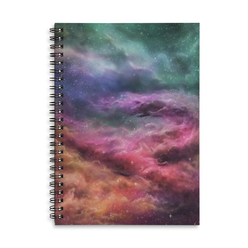 Digital Space 3: The Dance Accessories Lined Spiral Notebook by Gyledesigns' Artist Shop