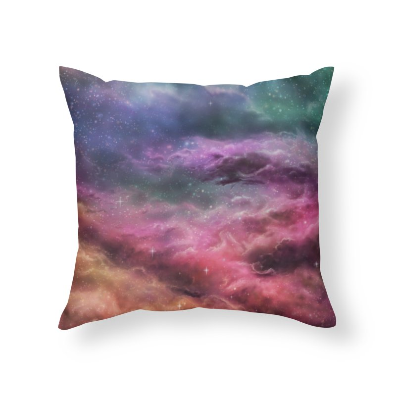 Digital Space 3: The Dance Home Throw Pillow by Gyledesigns' Artist Shop