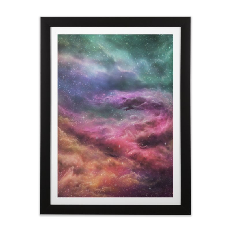 Digital Space 3: The Dance Home Framed Fine Art Print by Gyledesigns' Artist Shop