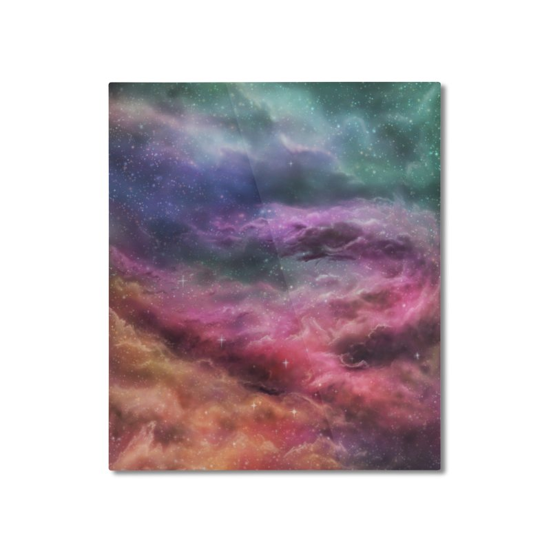 Digital Space 3: The Dance Home Mounted Aluminum Print by Gyledesigns' Artist Shop