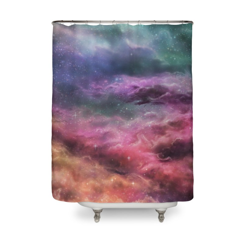 Digital Space 3: The Dance Home Shower Curtain by Gyledesigns' Artist Shop