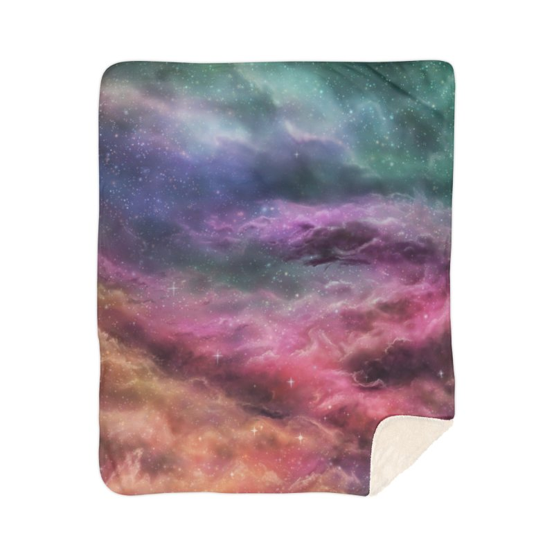Digital Space 3: The Dance Home Sherpa Blanket Blanket by Gyledesigns' Artist Shop