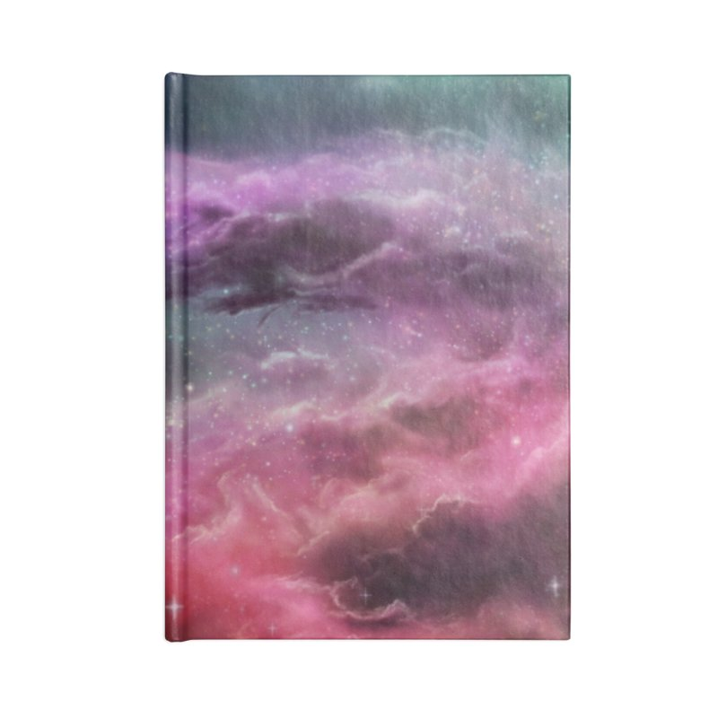 Digital Space 3: The Dance Accessories Lined Journal Notebook by Gyledesigns' Artist Shop