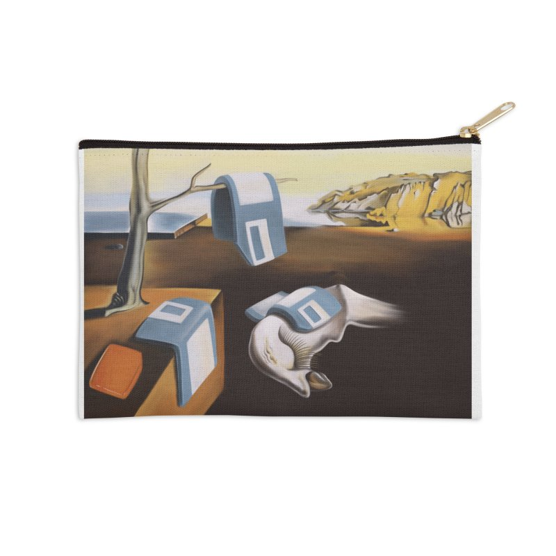Persistence of 1.44 MB of Memory Accessories Zip Pouch by Gyledesigns' Artist Shop