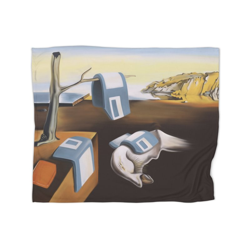 Persistence of 1.44 MB of Memory Home Fleece Blanket Blanket by Gyledesigns' Artist Shop