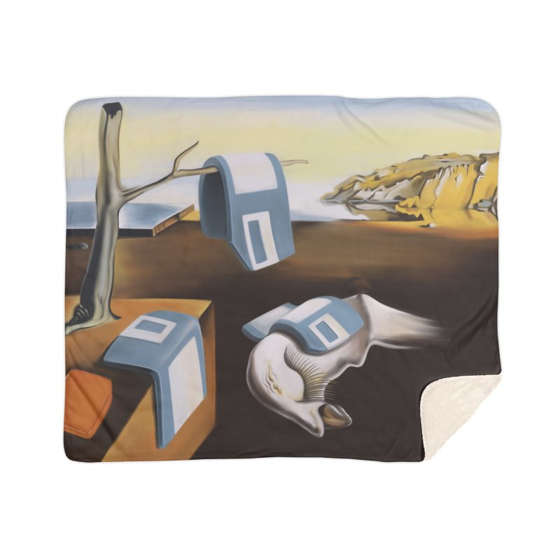 Persistence of 1.44 MB of Memory Home Sherpa Blanket Blanket by Gyledesigns' Artist Shop
