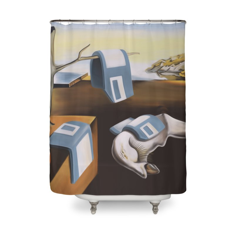 Persistence of 1.44 MB of Memory Home Shower Curtain by Gyledesigns' Artist Shop