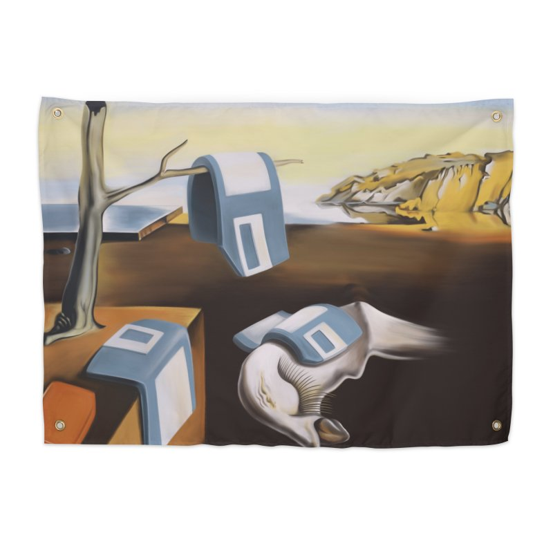 Persistence of 1.44 MB of Memory Home Tapestry by Gyledesigns' Artist Shop