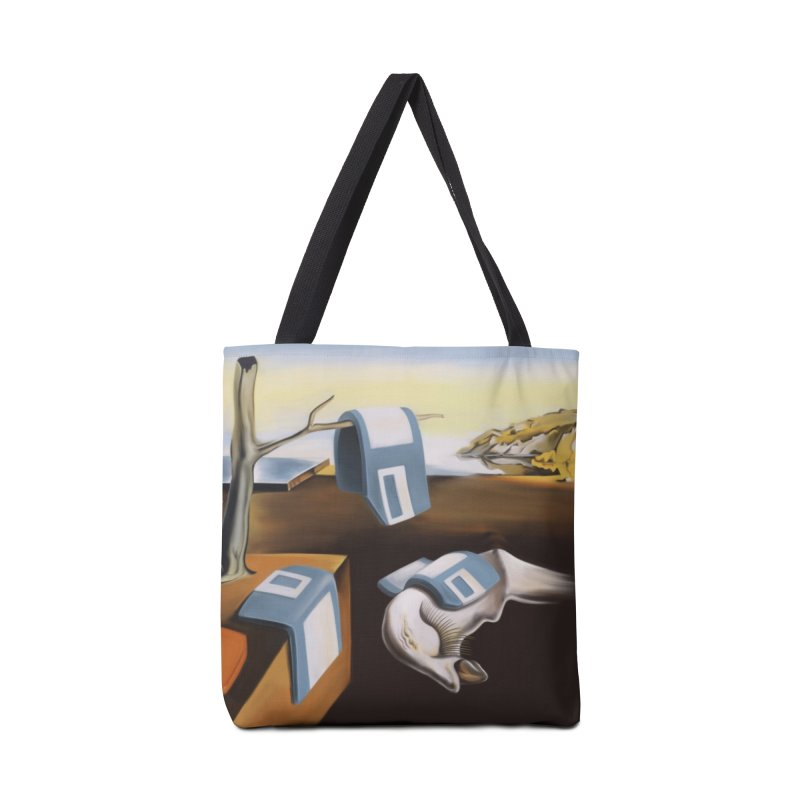 Persistence of 1.44 MB of Memory Accessories Tote Bag Bag by Gyledesigns' Artist Shop