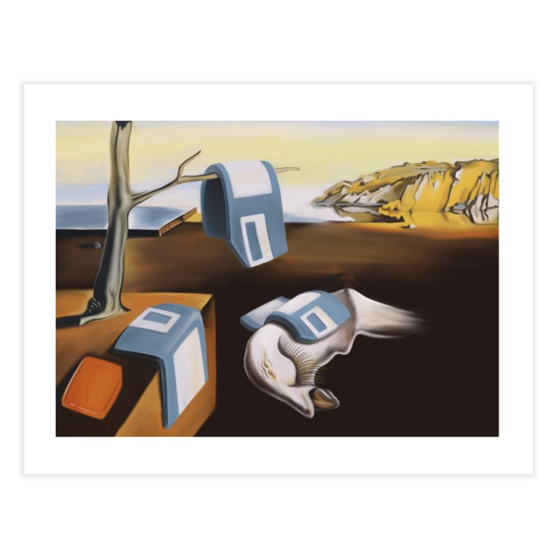 Persistence of 1.44 MB of Memory Home Fine Art Print by Gyledesigns' Artist Shop