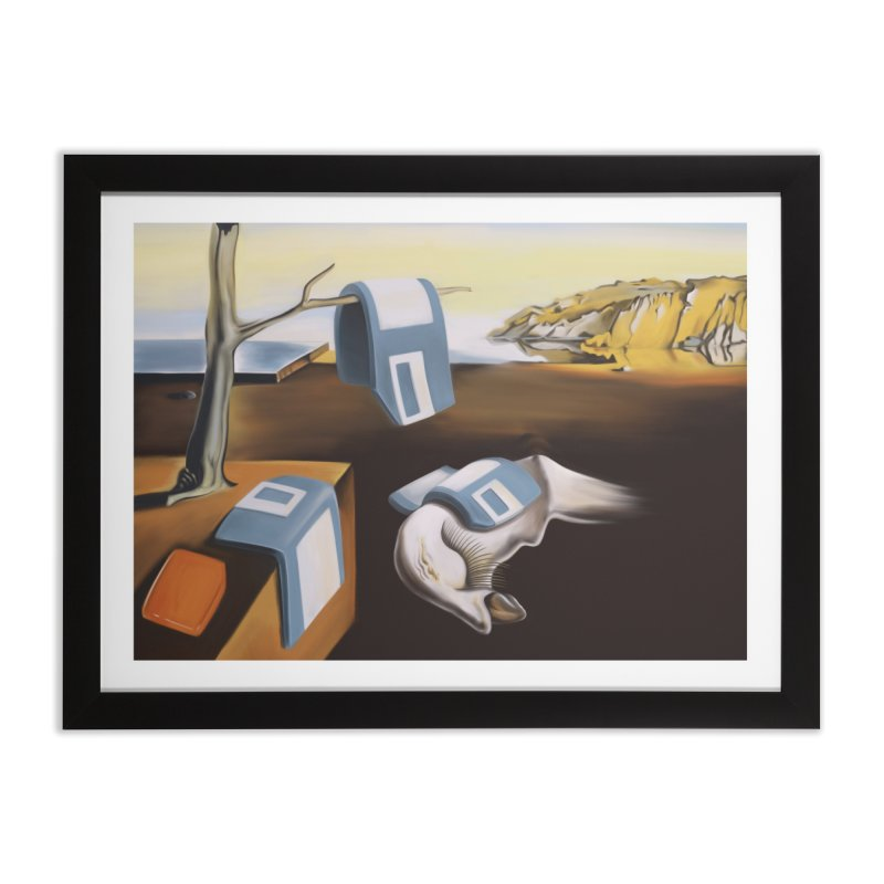 Persistence of 1.44 MB of Memory Home Framed Fine Art Print by Gyledesigns' Artist Shop