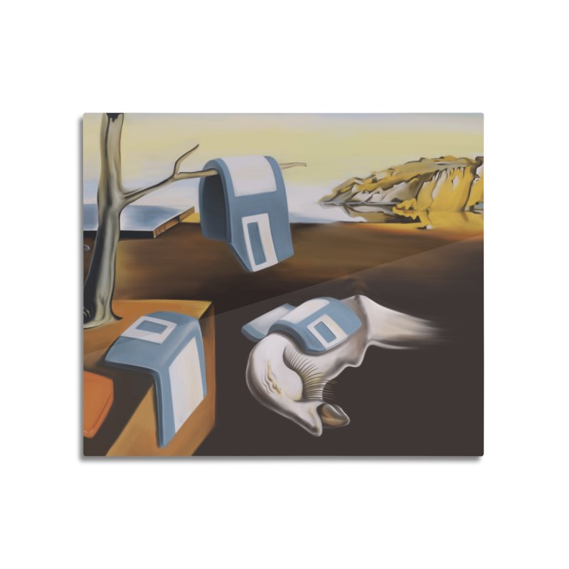 Persistence of 1.44 MB of Memory Home Mounted Aluminum Print by Gyledesigns' Artist Shop