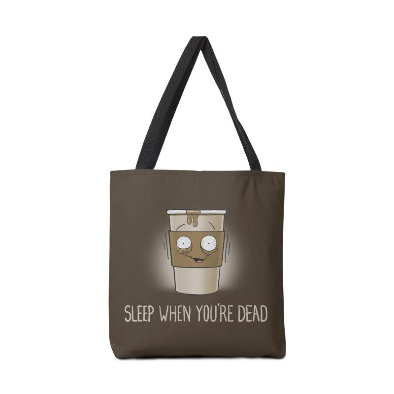 Sleep When You're Dead Accessories Bag by Gyledesigns' Artist Shop