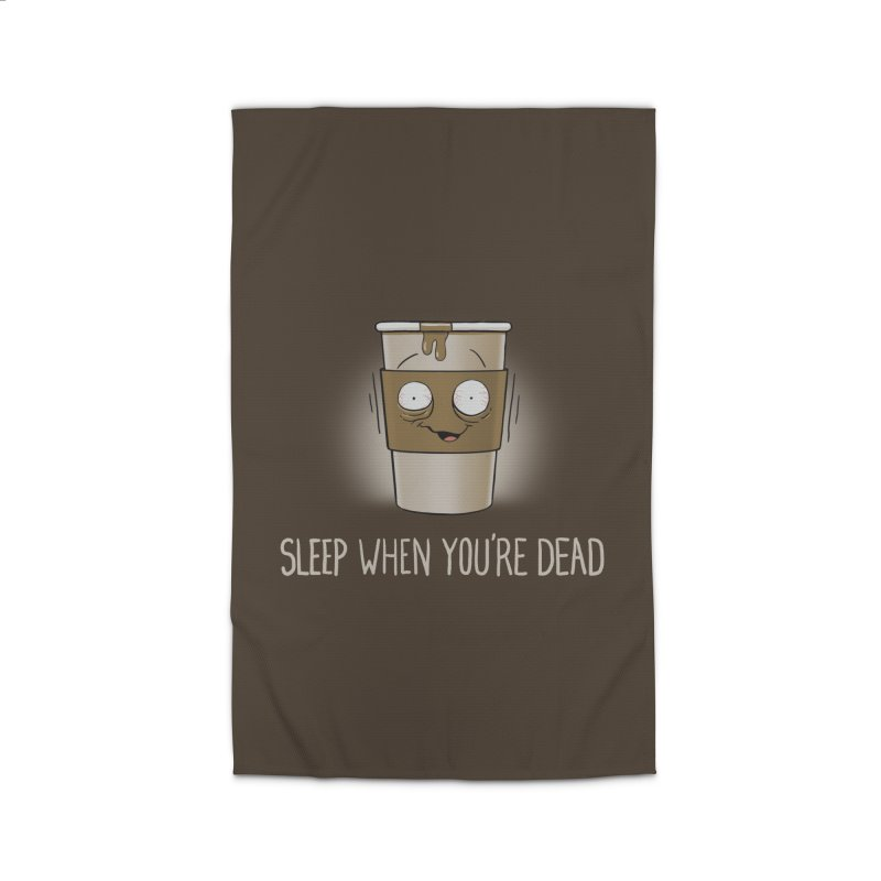 Sleep When You're Dead Home Rug by Gyledesigns' Artist Shop