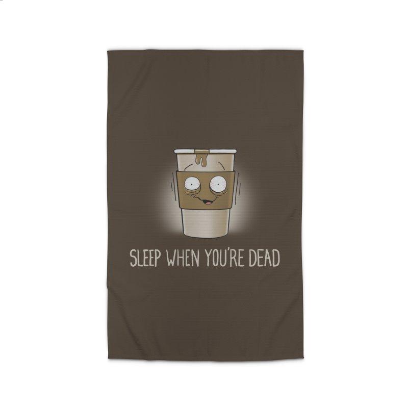 Sleep When You're Dead Home Rug by Gyledesigns' Artist Shop