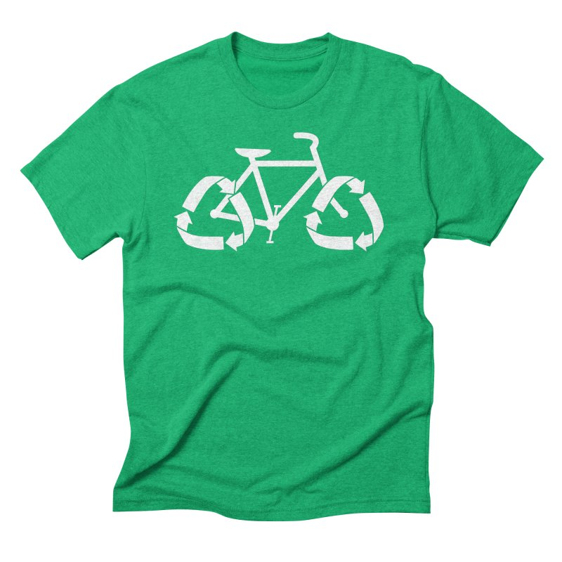 (re)cycle Men's Triblend T-shirt by Gyledesigns' Artist Shop
