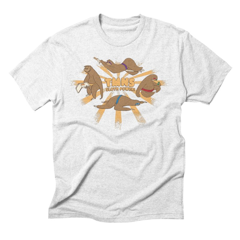 Teenage Mutant Ninja Sloths Men's Triblend T-shirt by Gyledesigns' Artist Shop