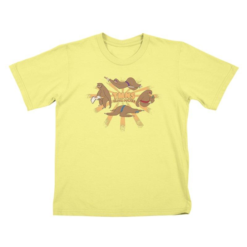Teenage Mutant Ninja Sloths   by Gyledesigns' Artist Shop