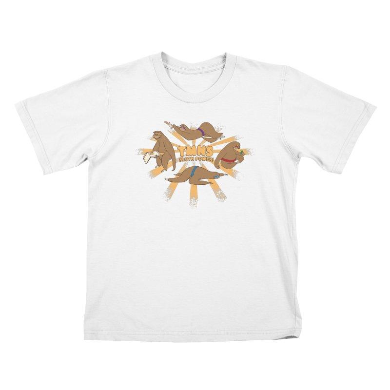 Teenage Mutant Ninja Sloths Kids T-shirt by Gyledesigns' Artist Shop