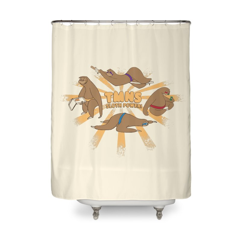 Teenage Mutant Ninja Sloths Home Shower Curtain by Gyledesigns' Artist Shop