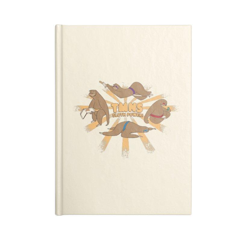 Teenage Mutant Ninja Sloths Accessories Notebook by Gyledesigns' Artist Shop