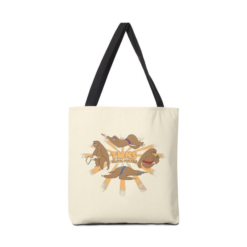 Teenage Mutant Ninja Sloths Accessories Bag by Gyledesigns' Artist Shop