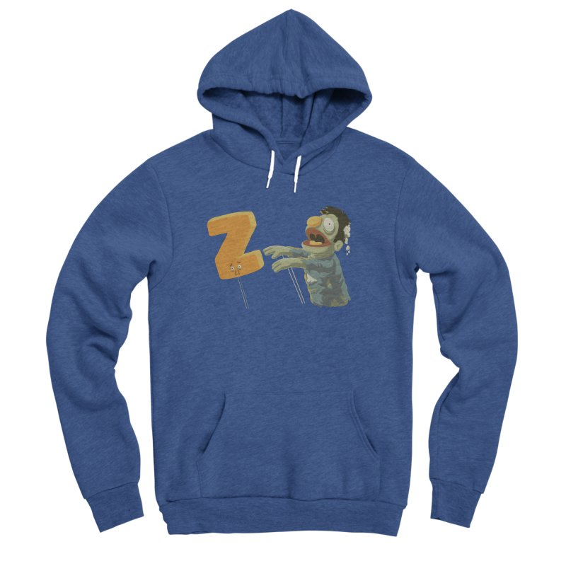 Z is for Zombie Men's Sponge Fleece Pullover Hoody by Gyledesigns' Artist Shop
