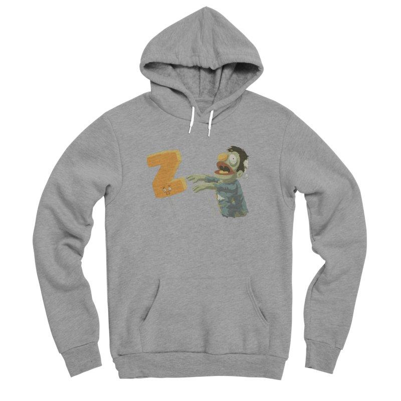 Z is for Zombie Men's Sponge Fleece Pullover Hoody by Gyledesigns' Artist Shop