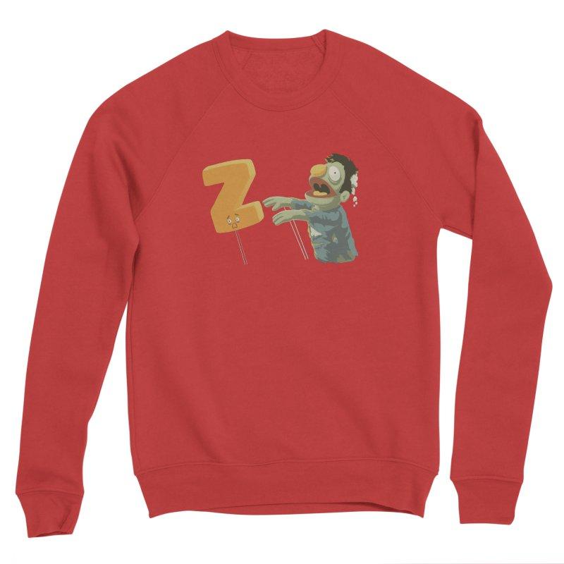 Z is for Zombie Men's Sponge Fleece Sweatshirt by Gyledesigns' Artist Shop