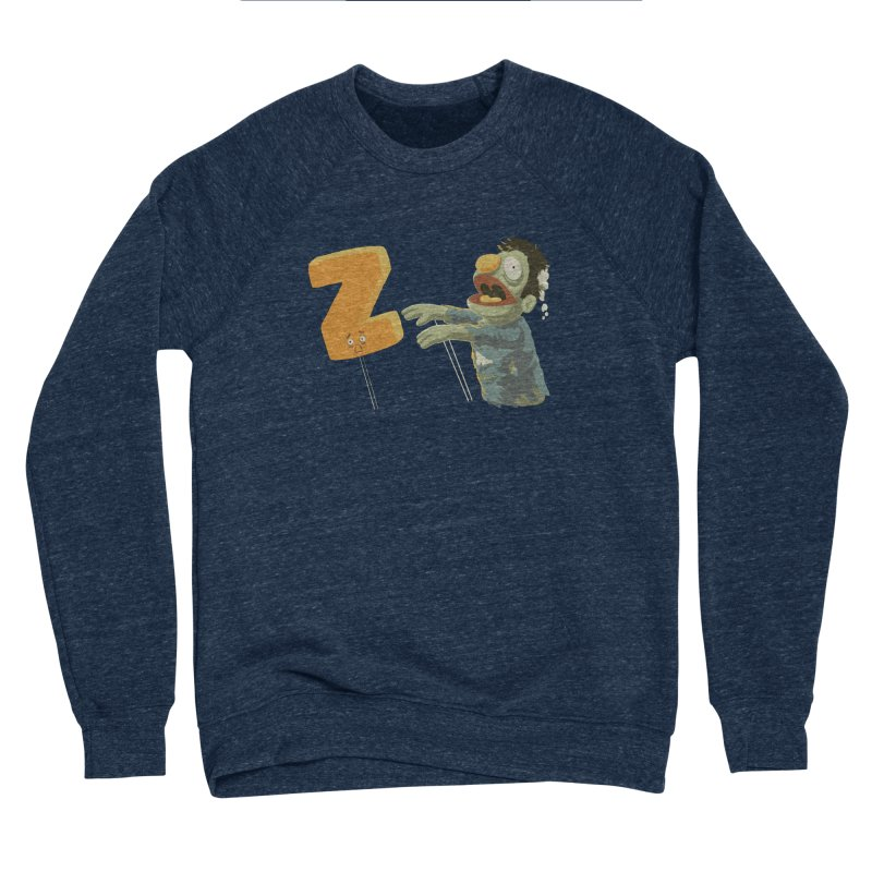 Z is for Zombie Men's Sponge Fleece Sweatshirt by Gyledesigns' Artist Shop