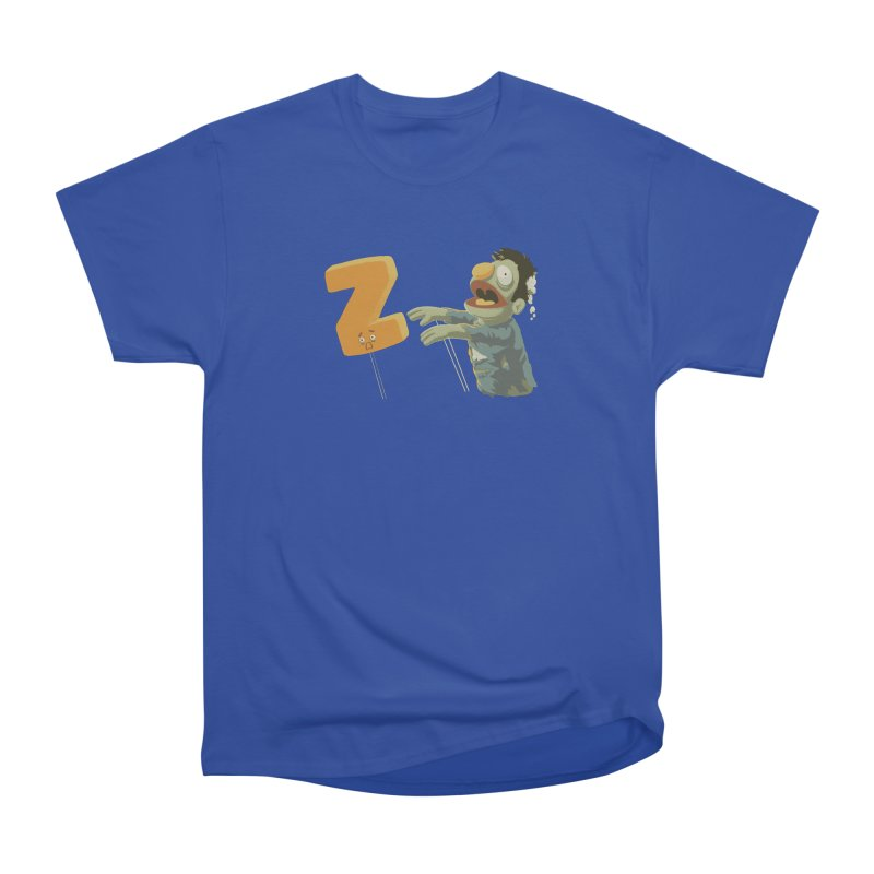 Z is for Zombie Women's Heavyweight Unisex T-Shirt by Gyledesigns' Artist Shop