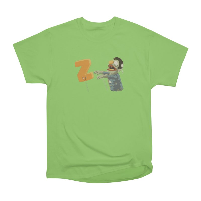 Z is for Zombie Men's Heavyweight T-Shirt by Gyledesigns' Artist Shop