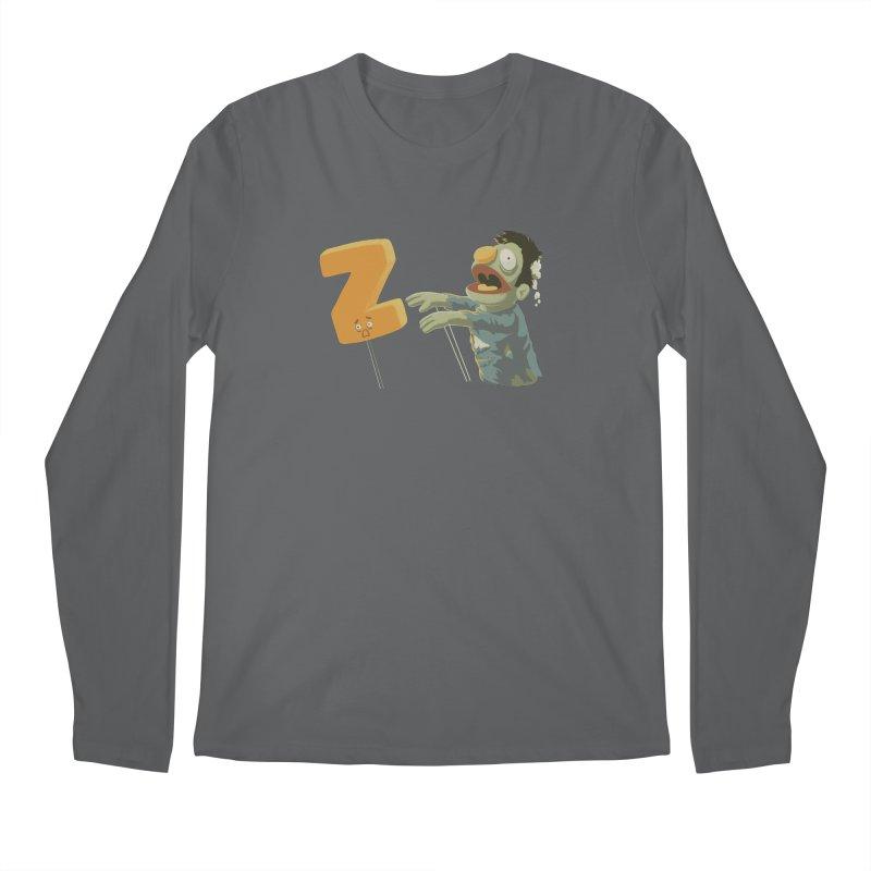 Z is for Zombie Men's Regular Longsleeve T-Shirt by Gyledesigns' Artist Shop
