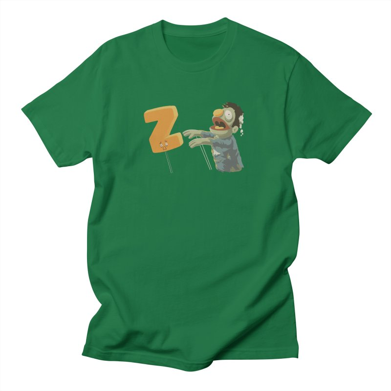 Z is for Zombie Men's Regular T-Shirt by Gyledesigns' Artist Shop