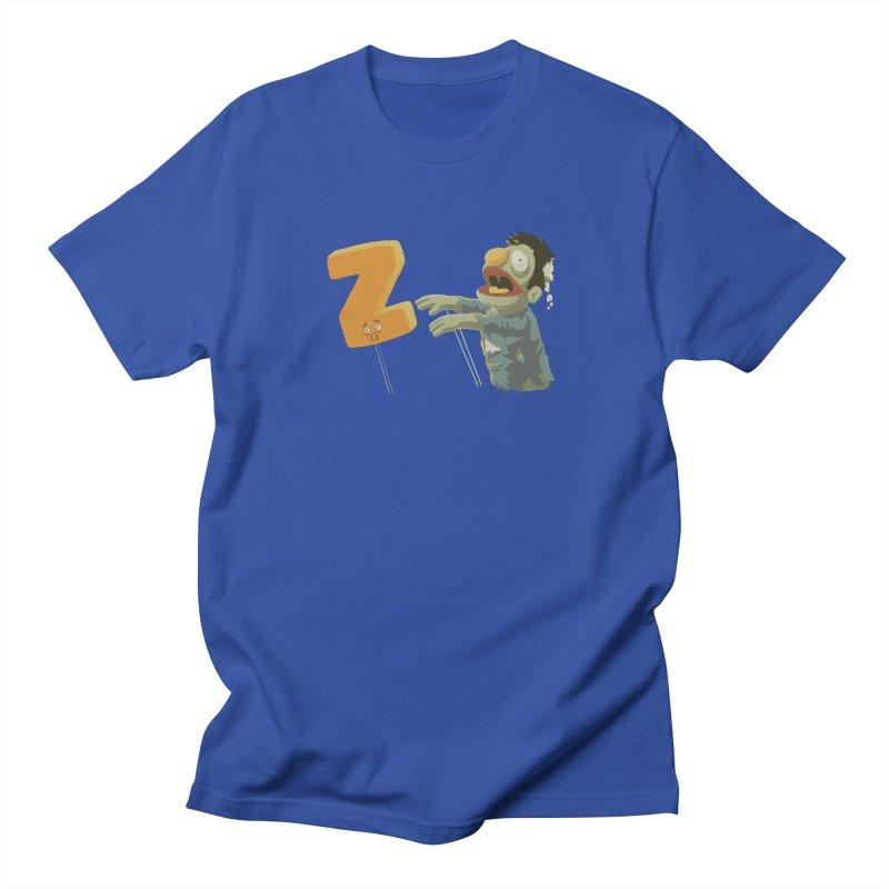 Z is for Zombie Women's Regular Unisex T-Shirt by Gyledesigns' Artist Shop