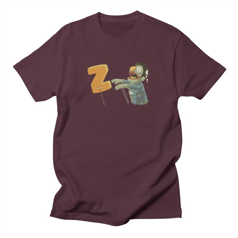 Z is for Zombie Women's Regular Unisex T-Shirt by Gyledesigns' Artist Shop