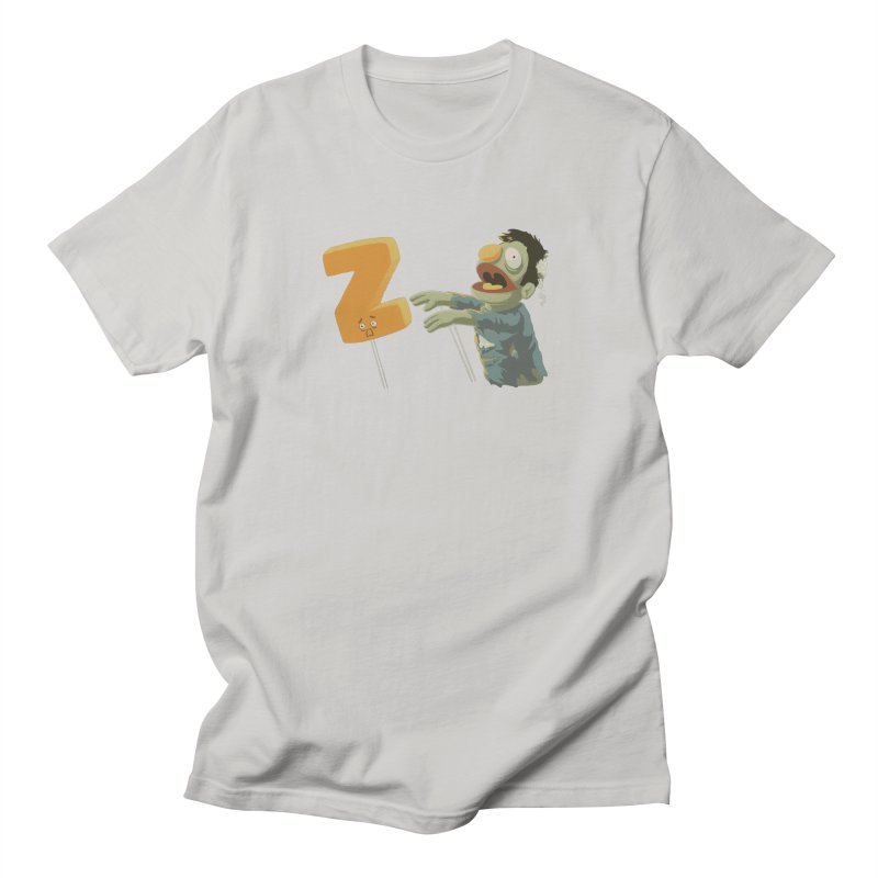 Z is for Zombie Men's Regular T-Shirt by Gyledesigns' Artist Shop
