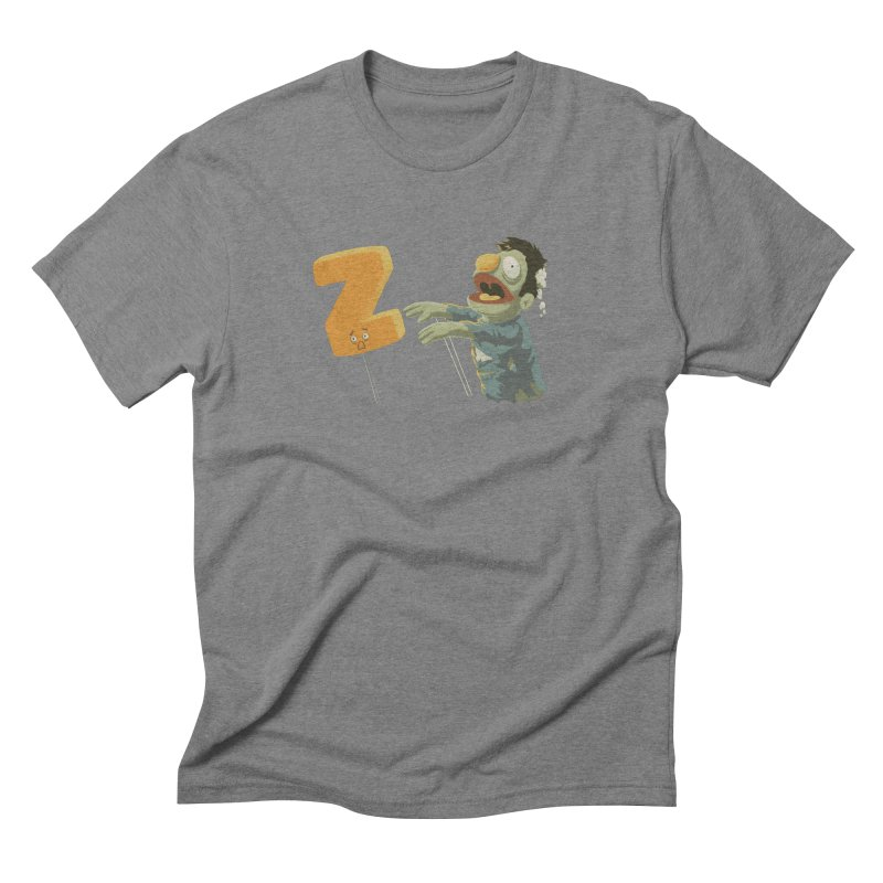 Z is for Zombie Men's Triblend T-Shirt by Gyledesigns' Artist Shop