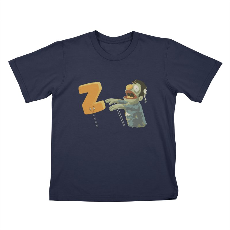 Z is for Zombie Kids T-Shirt by Gyledesigns' Artist Shop