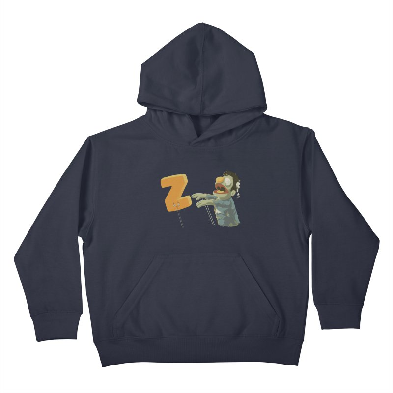 Z is for Zombie Kids Pullover Hoody by Gyledesigns' Artist Shop