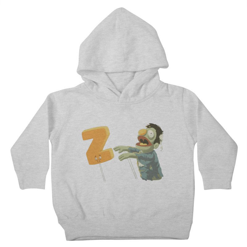 Z is for Zombie Kids Toddler Pullover Hoody by Gyledesigns' Artist Shop