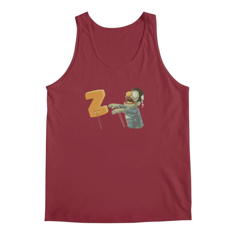 Z is for Zombie Men's Regular Tank by Gyledesigns' Artist Shop