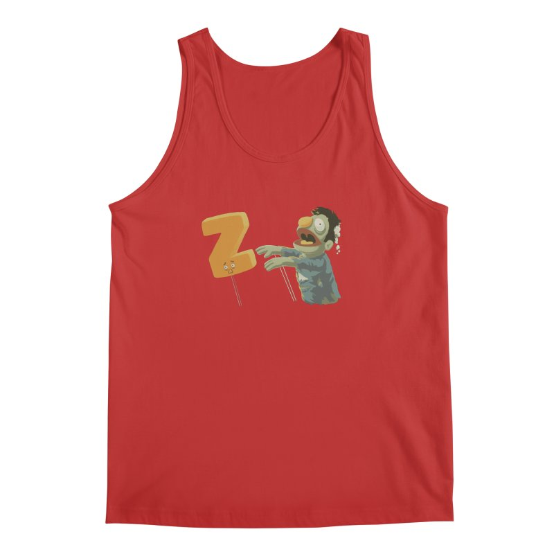 Z is for Zombie Men's Regular Tank by Gyledesigns' Artist Shop